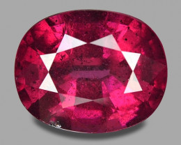 4.45 Cts Unheated Natural Cherry Red Rhodolite Garnet Gemstone