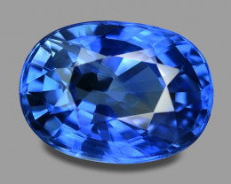 2.20 Cts Amazing Rare Natural Royal Blue Ceylon Sapphire Loose Gemstone