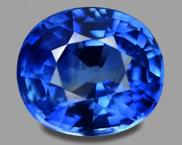 1.94 Cts Amazing Rare Natural Royal Blue Ceylon Sapphire Loose Gemstone
