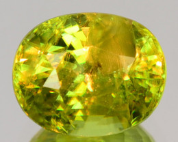 1.38 Cts Excellent Color Change Greenish Yellow Natural Sphene