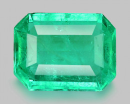 1.37 Cts Natural Earth Mined Green Color Colombian Emerald Gemstone