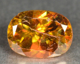 0.98 Cts Excellent Color Change Orange Yellow Natural Sphene