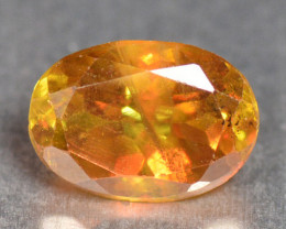 0.80 Cts Excellent Color Change Orange Yellow Natural Sphene