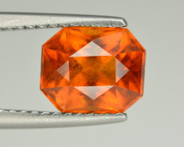 Superb Color 2.40 Ct Natural Hessonite Garnet. RA