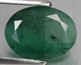 2.57  Cts Natural Earth Mined Green Color Emerald Gemstone