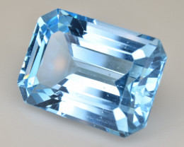 Natural Blue Topaz  14.25 Cts Top Quality Gemstone