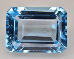 Natural Blue Topaz  14.36 Cts Top Quality Gemstone