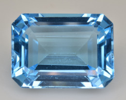 Natural Blue Topaz  14.37 Cts Top Quality Gemstone