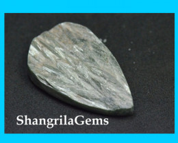 37mm SERAPHINITE cabochon matte unpolished