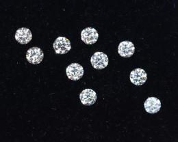 1.7mm D-F Brilliant Round VS Loose Diamond 10pcs / B