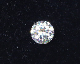 2.3mm D-F Brilliant Round VVS Loose Diamond 1pc