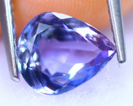 2.06cts Natural Violet Blue Colour Tanzanite / RD1236