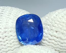 BURMESSE NO HEAT 1.24 CTS NATURAL STUNNING CUSHION MIX BLUE SAPPHIRE