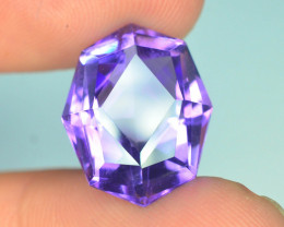 AAA Cut & Color 9.0 ct Untreated Amethyst ~ K