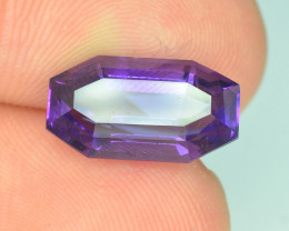 AAA Cut & Color 4.95 ct Untreated Amethyst ~ K