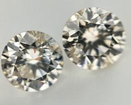0.212 , Pair Round Diamonds , Light Color Diamonds , WR1198