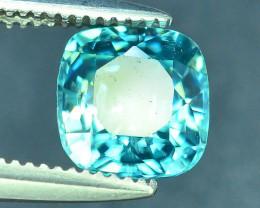 AAA Brilliance 1.45 ct Blue Zircon Cambodia ~ K