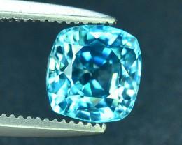 AAA Brilliance 1.75 ct Blue Zircon Cambodia ~ K