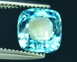 AAA Brilliance 1.65 ct Blue Zircon Cambodia ~ K