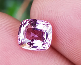 NO TREAT 1.50 CTS NATURAL STUNNING ANTIQUE CUSHION PINK SPINEL BURMA