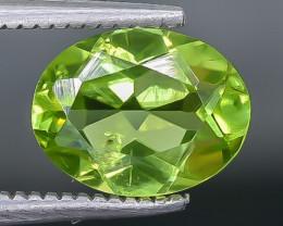 1.67 Crt Peridot Faceted Gemstone (Rk-22)