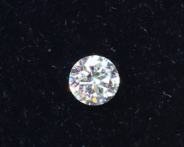 2.1mm D-F Brilliant Round VS Loose Diamond 1pcs / B