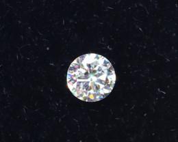 2.5mm D-F Brilliant Round VS Loose Diamond 1pcs / B