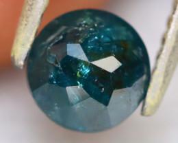 Blue Diamond 0.96Ct Natural Dome Cut Fancy Blue Diamond B2010