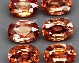 7.20  Ct. Natural   Zircon Cambodia - 6 ps