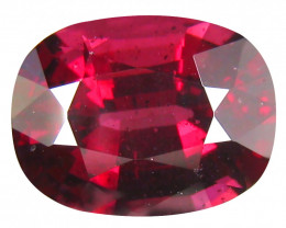 4.39 Ct. Natural Top Pink - Red Rhodolite Garnet Africa Unheated