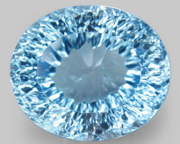 19.06 ct. Natural Swiss Blue Topaz Top Quality Gemstone Brazil