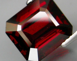 5.18  Ct. Natural Top Red Rhodolite Garnet Africa Unheated