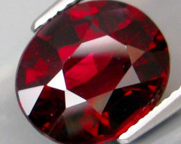 6.22 Ct. Natural Top Red Rhodolite Garnet Africa Unheated