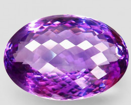 59.85 ct. Natural Top Nice Purple Amethyst Unheated Brazil