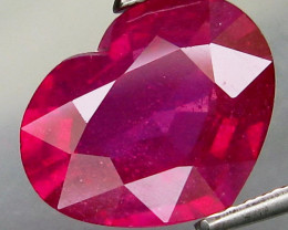 5.17  Cts . Top Quality Natural  Ruby Winza Tanzania Gem