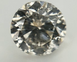 0.293 ct , Round Diamonds , Light Color Diamonds , salt and pepper diamonds