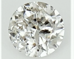 0.19 ,  Salt and pepper , Round Diamonds , Light Color Diamonds , WR1260