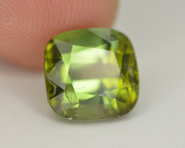 Amazing Color 4.95 Ct  Green Tourmaline From Afghanistan