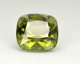 Amazing Color 4.15 Ct  Green Tourmaline From Afghanistan