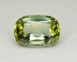 Amazing Color 2.10 Ct  Green Tourmaline From Afghanistan