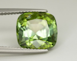 Amazing Color 6.45 Ct  Green Tourmaline From Afghanistan