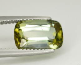 Amazing Color 3.95 Ct  Green Tourmaline From Afghanistan