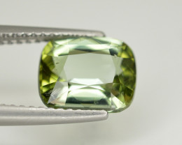 Amazing Color 2.45 Ct  Green Tourmaline From Afghanistan