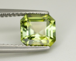 Amazing Color 1.60  Ct  Green Tourmaline From Afghanistan
