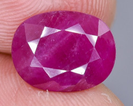 4.52 Crt Natural Ruby Faceted Gemstone.( AB 52)