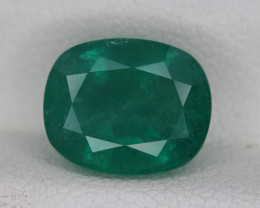 GFCO Certified  3.72 Carats  Natural Emerald Gemstone
