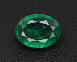 GFCO Certified 2.30 Carats  Natural Emerald Gemstone