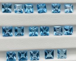 21 Carats Topaz Gemstones Parcel