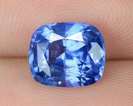 2.60 Cts IGI Certified Natural Blue Color Ceylon Sapphire Loose Gemstone