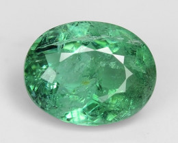 0.86 Cts Untreated Copper Bearing Green Color Natural Paraiba Tourmaline